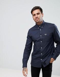 Fred Perry oxford shirt in black - Черный