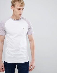 Облегающая футболка с рукавами реглан Farah Zemlak - Фиолетовый