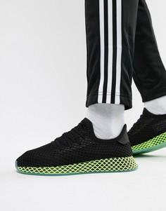 Черные кроссовки adidas Originals Deerupt B41755 - Черный