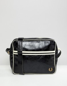 Черная классическая сумка на плечо Fred Perry - Черный
