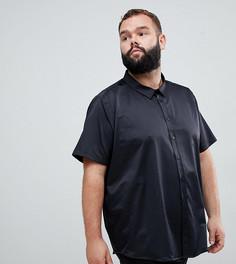 Рубашка с короткими рукавами Jacamo Plus - Черный