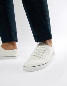 Белые кеды на шнуровке Brave Soul - Белый