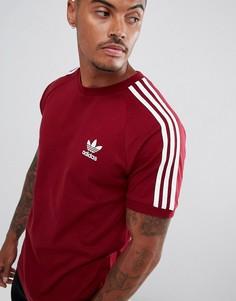 Красная футболка adidas Originals California DH5810 - Красный