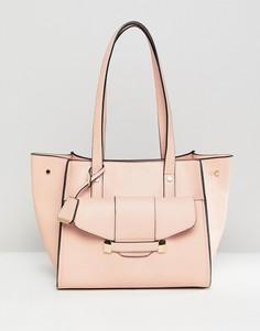 Розовая сумка с карманом спереди Glamorous - Розовый