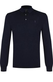 Шерстяное поло с длинными рукавами Polo Ralph Lauren