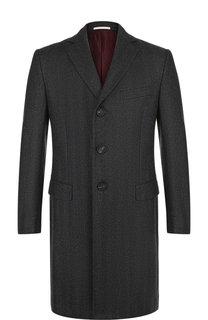Однобортное шерстяное пальто Pal Zileri