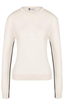 Пуловер из смеси шерсти и шелка с кашемиром Lanvin