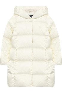 Стеганое пальто с капюшоном Polo Ralph Lauren