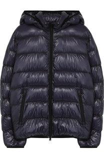 Пуховая куртка на молнии с капюшоном Herno