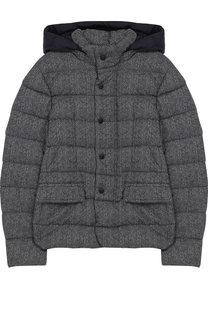 Текстильная куртка с капюшоном Herno