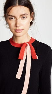 Chinti and Parker Tie Neck Sweater