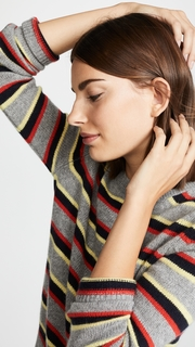 Chinti and Parker Jalisco Cashmere Stripe Sweater