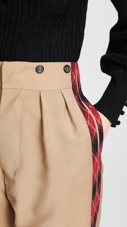 No. 21 Combo Plaid Pants