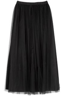 Комбинированная юбка La Reine Blanche