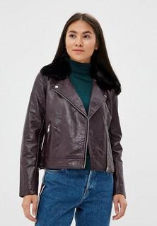 Куртка кожаная b.young
