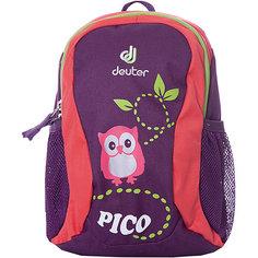 """Рюкзак Deuter Pico """"Совенок"""", фиолетовый"""