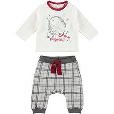 Комплект:футболка с длинным рукавом,брюки iDO для мальчика