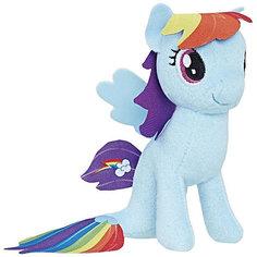 """Мягкая игрушка My little Pony """"Подводные пони"""" Рэйнбоу Дэш, 13 см Hasbro"""