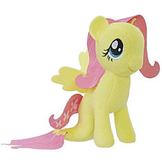 """Мягкая игрушка My little Pony """"Подводные пони"""" Флаттершай, 13 см Hasbro"""
