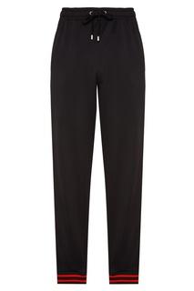 Черные брюки с лампасами Gucci