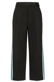Черные брюки с поясом Sandro