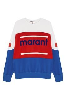 Свитшот с логотипом Isabel Marant