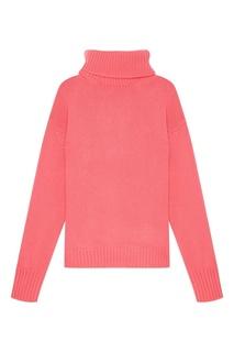 Пуловер свободного кроя с высоким воротником Golden Goose Deluxe Brand