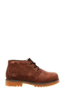 Коричневые кожаные ботинки Affex