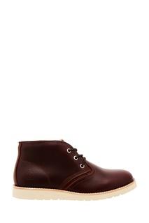 Кожаные ботинки на шнуровке Affex