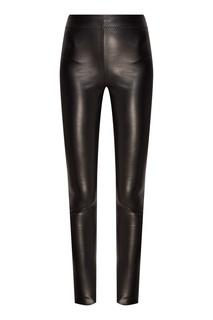 Черные зауженные брюки Laroom