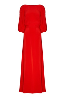 Шелковое платье-макси Laroom