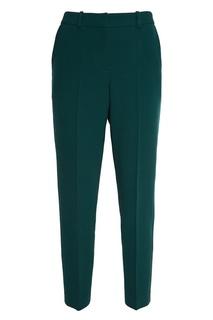 Укороченные зеленые брюки Alena Akhmadullina