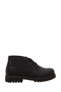 Черные кожаные ботинки Affex