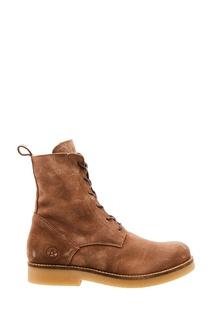 Высокие замшевые ботинки Affex
