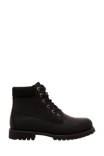 Черные ботинки на шнуровке Affex