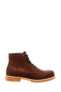 Коричневые ботинки из кожи Affex