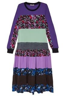 Платье с комбинированным дизайном Marni