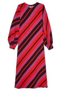 Платье в полоску Marni