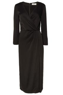 Черное платье с вырезом Laroom