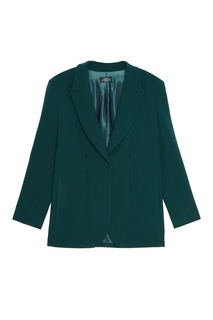 Зеленый приталенный жакет Alena Akhmadullina