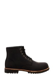 Высокие черные ботинки на шнуровке Affex