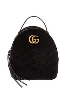 Рюкзак GG Marmont из бархата Gucci