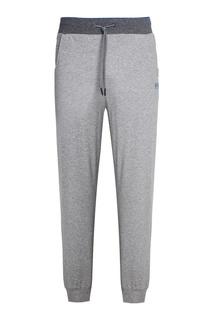 Меланжевые спортивные брюки Hugo Boss