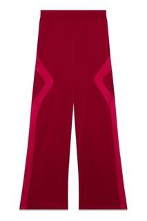 Широкие красные брюки Maje