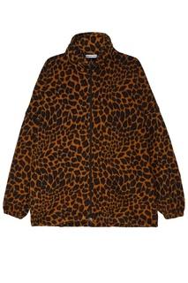 Куртка с леопардовым принтом Balenciaga