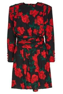 Платье с цветочным принтом Mo&Co
