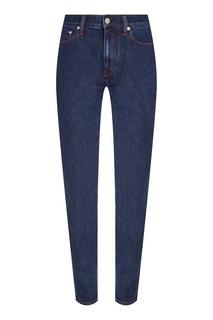 Синие зауженные джинсы Calvin Klein