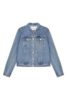 Голубая джинсовая куртка Calvin Klein