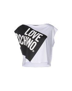 Топ без рукавов Love Moschino