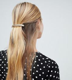Золотистая заколка для волос с цепочкой DesignB - Золотой